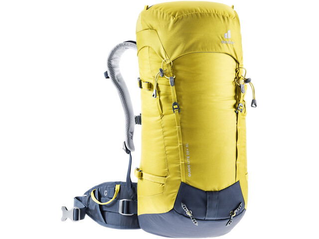 deuter Guide Lite 28+ SL Backpack Women, geel/blauw